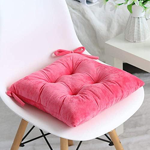YANJ Cojín de fácil elevación, cojín grueso para silla de comedor de invierno para estudiantes en casa de aprendizaje cushion-G_36 x 36 cm, almohadillas de fieltro