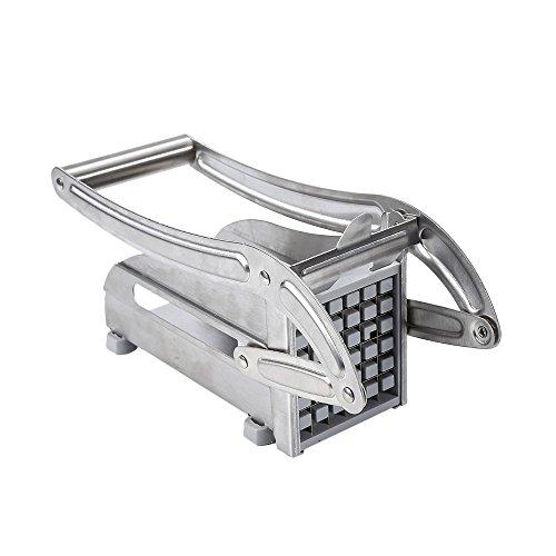 Cortador de patatas fritas francesas, cortador de patatas de acero inoxidable profesional para uso doméstico y comercial