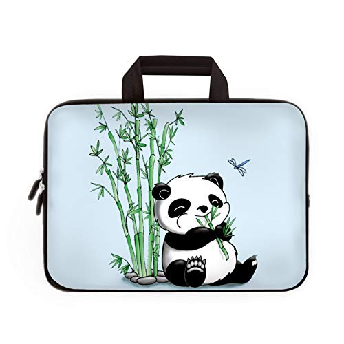 11' 11.6' 12' 12.1' 12.5 Inch Laptop Carrying Bag Case Notebook Ultrabook Bag Tablet Cover Neoprene Sleeve Briefcase Bag With Outside Handle