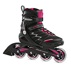 IDEAL FOR NEW SKATERS - Novice skate for women at an ideal price: comfort, control and stability SUPPORTIVE SHELL - Rollerblade design provides extra foot support and balance COMFORT LINER - Padded liner ensures a snug fit with an easy closure system...