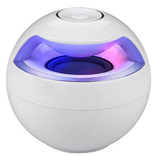 Hffan Bluetooth Intelligenter Lautsprecher,SoundCore Mini Ball Multicolor Neuheit,tragbarer Lautsprecher mit herausragendem Sound, Bis zu 10 Stunden kabellos Musik abspielen (Sonderedition)