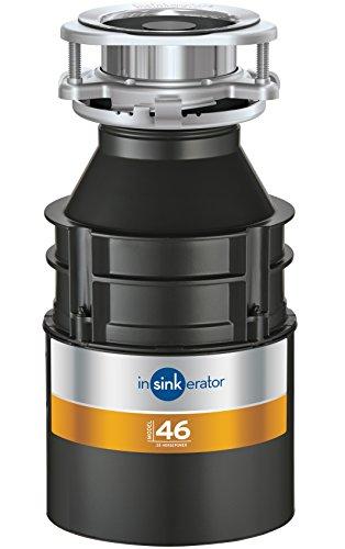 InSinkErator 77969modello 46smaltimento dei rifiuti, colore: nero