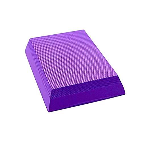 TRonin Bloques de Yoga con Espuma de cuboide, Bloque de Espuma con Forma de cuboide Suave for Yoga Meditación de Pilates Ejercicio Diario en casa Ayuda y profundiza Poses (Color : Purple)