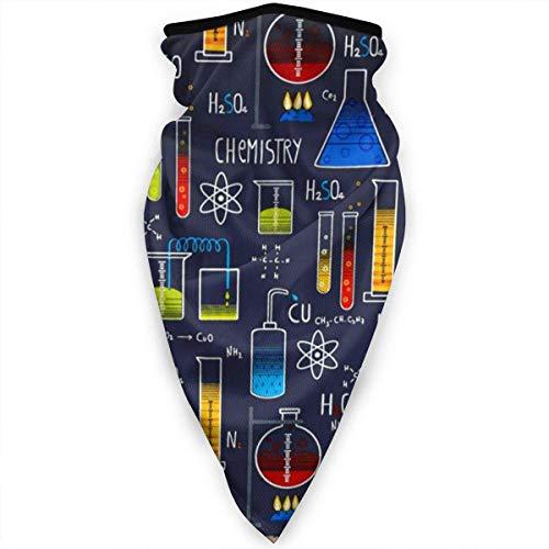 Liuqy Équipement d'élément Chimique Unisexe Cou guêtre écharpe de Visage Plus Chaud extérieur Coupe-Vent Protection Contre la poussière Chapeaux multifonctionnels