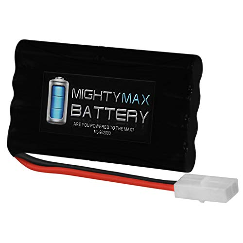 Mighty Max Battery 9.6V 2000mAh NiMH Battery Replacement for Tonka Ricochet RC Car Brand Product