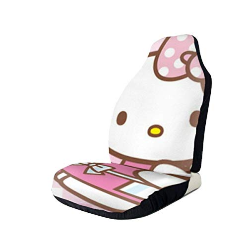 Guduss Hello Kitty Car Seat Covers Interior Mat Cushion Pad Accessories Super Soft Vehicle Seats Decoration Protector Cover Bag V.