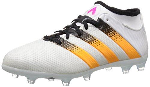adidas Performance Ace 16,2 Primemesh Fg/ag FuÃ?ballschuh, weiÃ? / Gold/Schock Rosa, 5,5 M Us