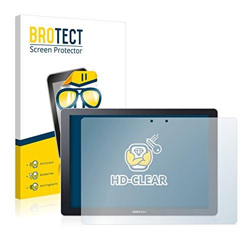 BROTECT Schutzfolie kompatibel mit Samsung Galaxy TabPro S (2 Stück) klare Bildschirmschutz-Folie