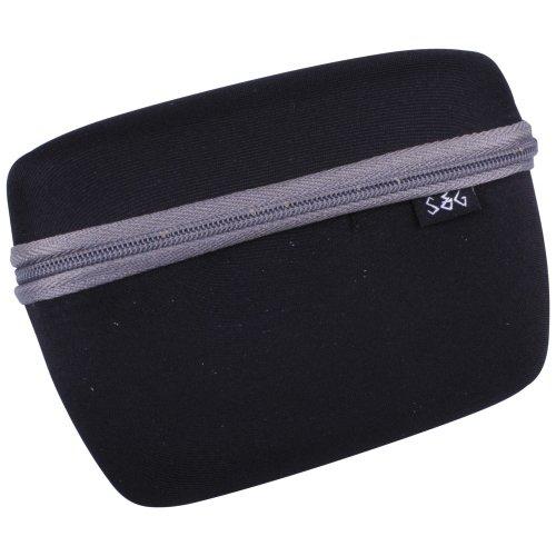 foto-kontor Tasche Case Huelle Fuer Tomtom bis 10,9cm (4,3 Zoll) schwarz für Navigon 7100 7110 Europa 2100 max 2110 max