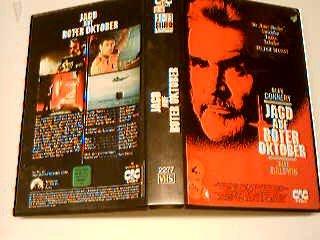 Jagd auf roter Oktober VHS