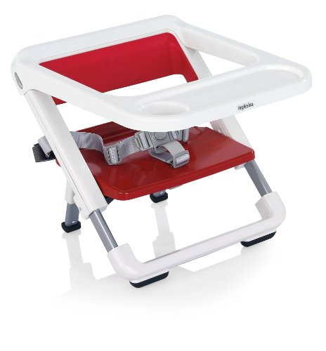 Inglesina Brunch - Trona plegable, color rojo