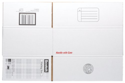 Scotch Mailing, Moving, and Storage Box, 14 Inches x 10 Inches x 5-1/2 Inches, 12-Pack (8006)
