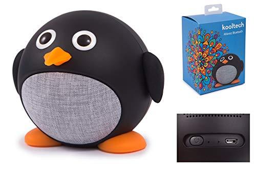Kooltech 020195 Altavoz Bluetooth, Penguin