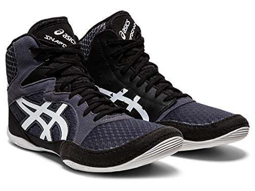 ASICS Kids's Snapdown 3 GS Wrestling Shoes, 5.5, Carrier Grey/White