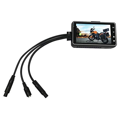 HilMe Motorrad-Armaturenbrett-Kamera, 720p, Motorrad-Videorekorder, Dashcam, wasserdicht, Kamera zum Autofahren
