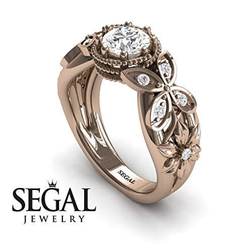 Princess Cut Three Stone Vintage Ring