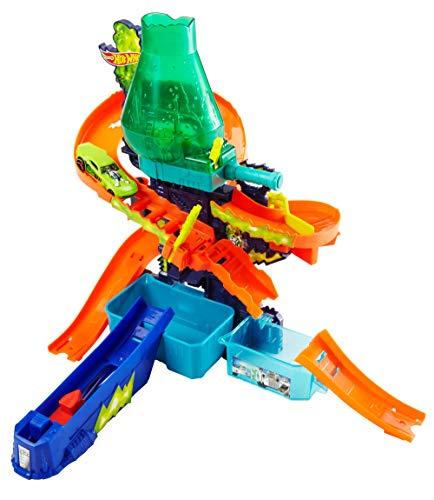 Hot Wheels CCP76 - Laboratorio Scientifico Cambia Colore