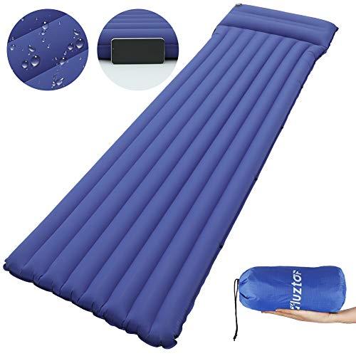 Isomatte mit Tasche Camping Luftmatratze 8.5cm Dick mit Verbindungsschnalle wasserdicht Langlebig Ultraleichte Schlafmatte für Camping,Wandern,Outdoor Zelte,Backpacking Reisen