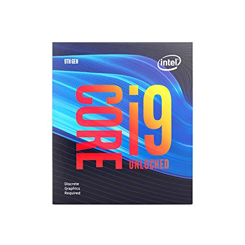 Intel BX80684I99900KF Intel Core i9-9900KF Desktop Processor 8 Cores up to 5.0 GHz Turbo Unlocked Without Processor Graphics LGA1151 300 Series 95W