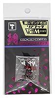 JACKALL(ジャッカル) ビンビンメタル フック カスタム用 リアM(#12)3SET.