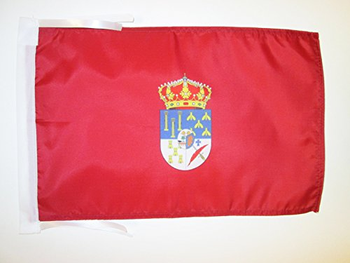 AZ FLAG Bandera de la Provincia DE Salamanca 45x30cm - BANDERINA Salamanca ENCastilla Y LEÓN 30 x 45 cm cordeles