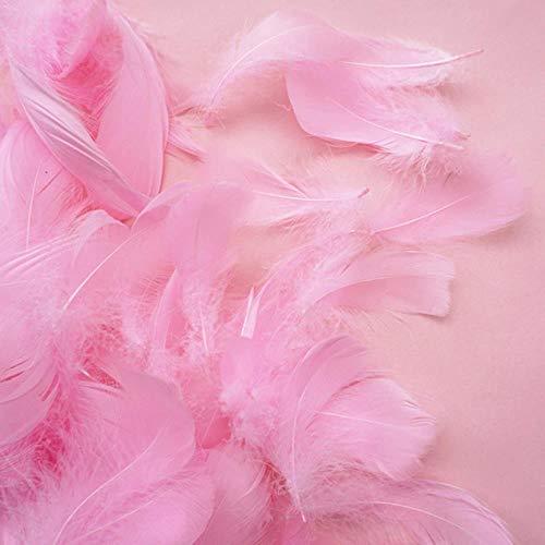Xinger 100st Macarons veer geschenkdoos gevuld bruiloft decoratie ballon vullen veer foto rekwisieten feestartikelen, PK