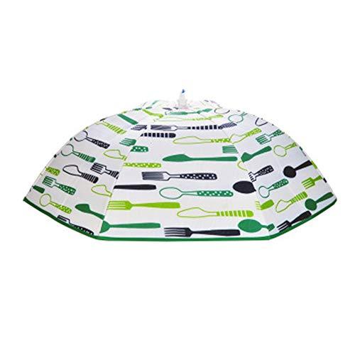 NBLYW (2 Pack Food Covers Tent Paraplu Aluminium folie Isolatie Voedsel Cover 28 * 28 Inch Herbruikbare Covers voor buiten, Partijen Picnics Beschermen tegen vliegen en Bugs