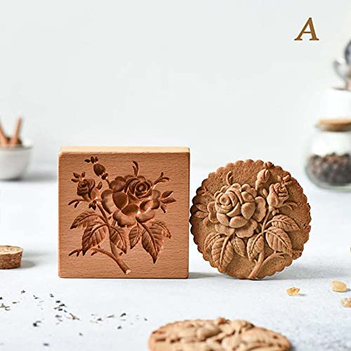 Now Challenge the lowest price free shipping Kesea Cookie Cutter Provance Rose Cr Embossing Stamp Mold