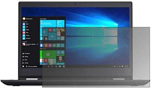 dipos I Blickschutzfolie matt kompatibel mit Lenovo ThinkPad Yoga 370 Sichtschutz-Folie Bildschirm-Schutzfolie Privacy-Filter