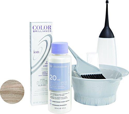 Ion HL-B Hi Lift Ash Blonde Permanent Creme Hair Color HL-B Hi Lift Ash Blonde