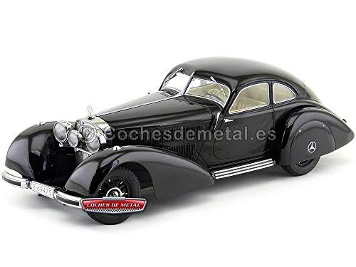 1938 Mercedes-Benz 540K Autobahn Kurier W29 Azabache 1:18 KK-Scale 180081
