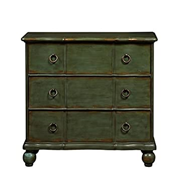 Pulaski Classic New England Distressed Accent Drawer Chest, Green