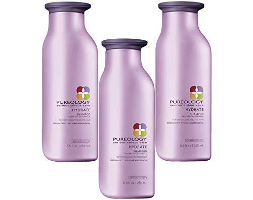 Feuchtigkeitsspendendes Shampoo (für gefärbtes trockenes Haar) (neue Verpackung) 250 ml - Haarpflege, 3er-Set
