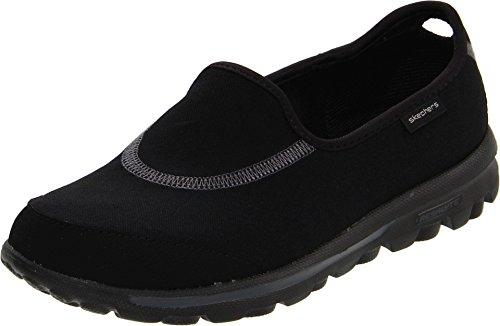 Skechers Performance Women's Go Walk Slip-On Walking Shoes, Black, 7.5 M US