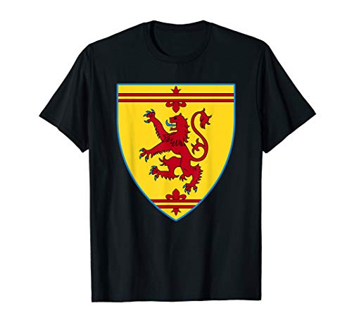 Knight Shield English Lion Crest Medieval Halloween Costume T-Shirt