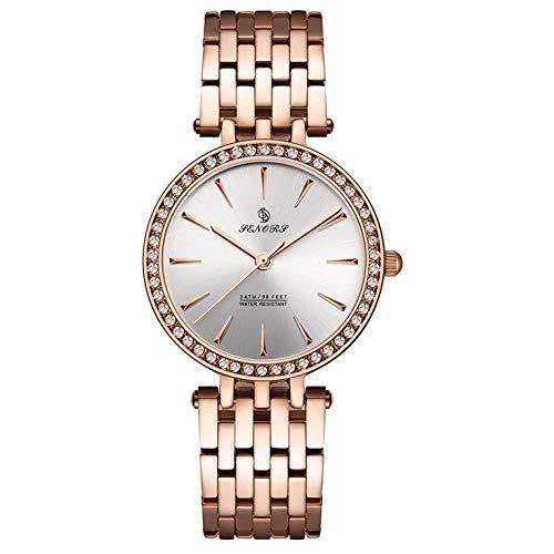 Reloj de cuarzo de diamante para hombre moda caliente relojes de pulsera impermeable Casual
