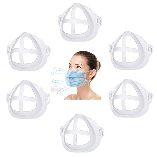 Lipstick Protector 6 Pcs 3D Silicone Face Frame Mask Extender ...