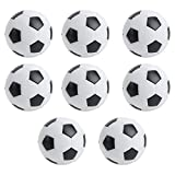 Liujaos Futbolines de fútbol de Mesa, Mini Pelotas de fútbol de Mesa de 32 mm Pelota de Juego de Mesa para Accesorios de Juego de Mesa de fútbol para Adultos y niños