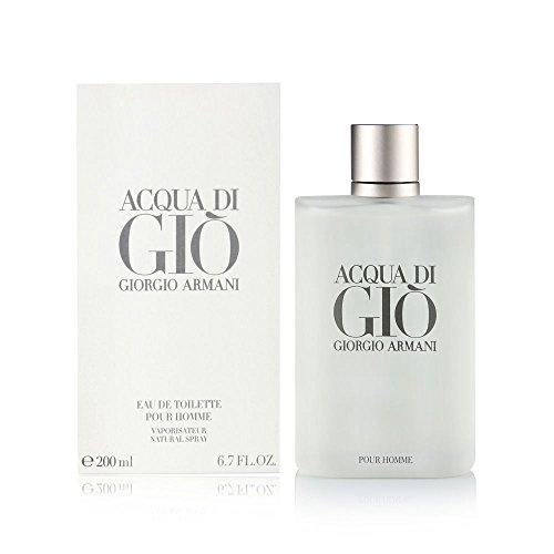 Giorgio Armani Acqua di Gio Homme, Eau de Toilette, 1er Pack (1 x 200 ml)