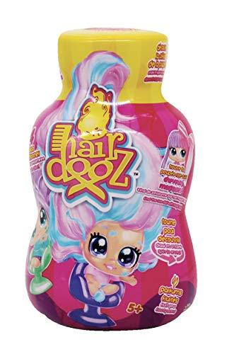 Splash Toys Hairdooz Glitter Wave 2 (Modell zufällig) – Öffne die Flasche Shampoo, um eine schöne Figur auf einem Friseursitz zu entdecken, 30173, Rosa