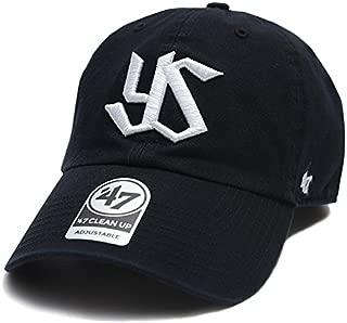 【RGW10GWS】 フォーティーセブンブランド 47BRAND ローキャップ 東京ヤクルトスワローズ コラボ 帽子 CAP 黒 日本プロ野球 アメカジ 応援 正規品