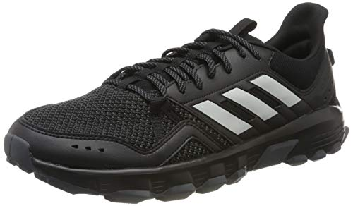 adidas Herren Rockadia Trail Laufschuhe, Mehrfarbig (Core Black/Grey Two F17/Grey Six F35860), 46 EU