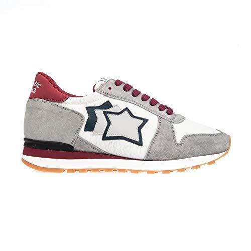 Atlatic Stars Argo Spnyabrny Sneaker, 43, Bianco/Rosso