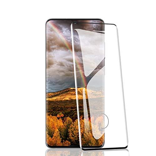 RIIMUHIR Protezioni per Lo Schermo per Samsung Galaxy S20 Plus [2 Pezzi], 9H Durezza, 9D Copertura Completa, Pellicola Vetro Temperato per Samsung Galaxy S20 Plus, Trasparente