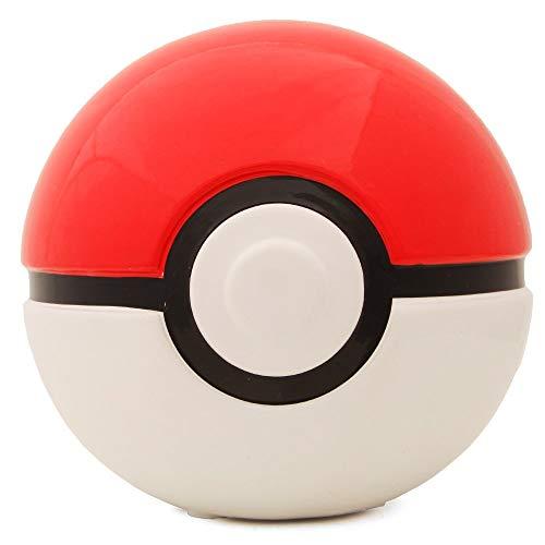 James Fashion Pokemon Kindermünzenbank Rot und Weiß