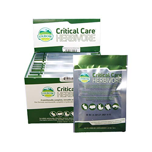 Oxbow Critical Care pour herbivores, 36 g