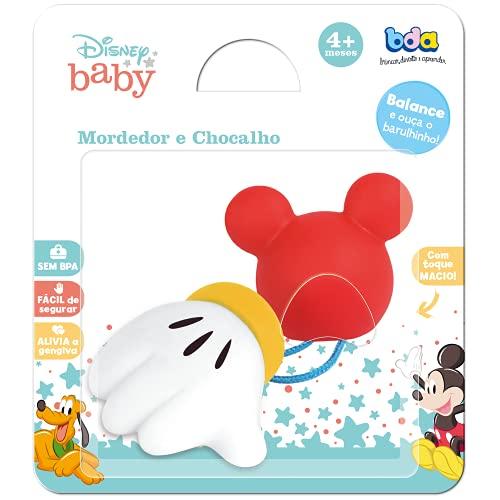 Disney Baby Mordedor e Chocalho, Toyster Brinquedos, Colorido