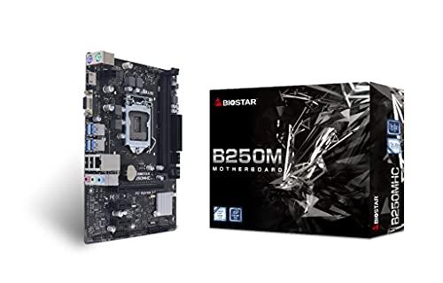 Biostar B250MHC Scheda Madre Intel® B250 LGA 1151 (Presa H4) Micro ATX