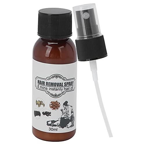 Spray de depilación Suave portátil Aerosol de depilación Viajes en casa Axilas Brazos Piernas 30ml