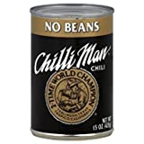 Chilli Man No Beans Chili, 15 Ounce (Pack of 12)